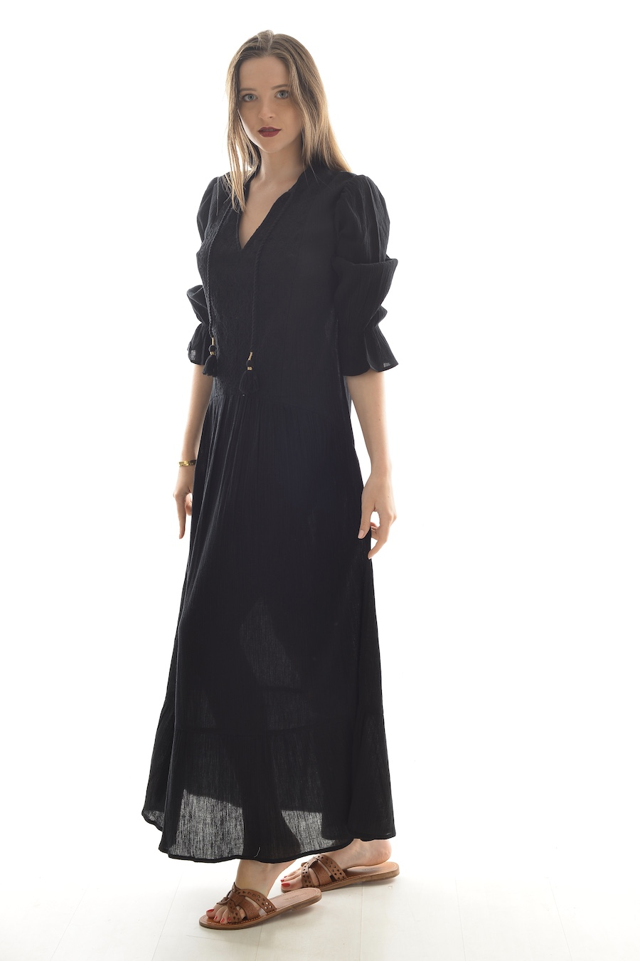 Robin, prêt à porter - ROBE ADÈLE BLACK