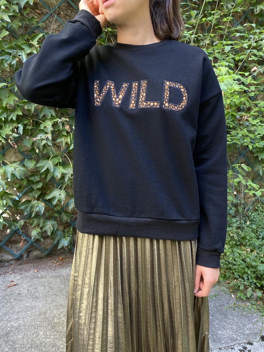 Robin, prêt à porter - SWEAT WILD NOIR